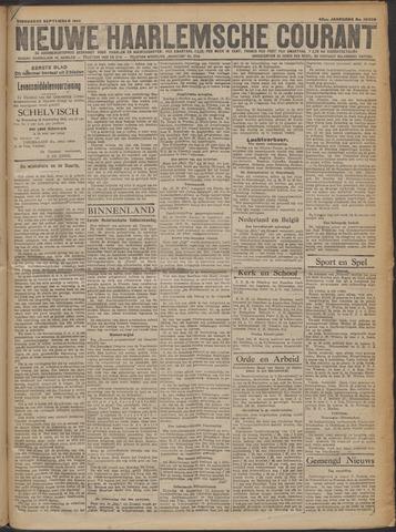 Nieuwe Haarlemsche Courant 1919-09-23