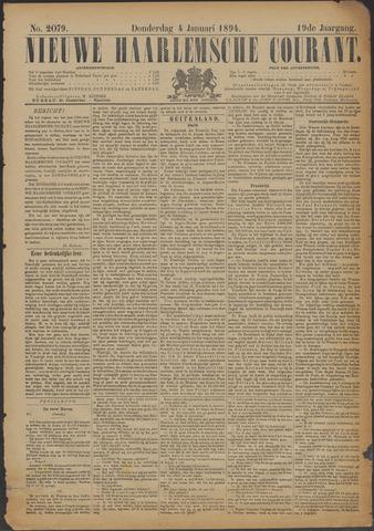 Nieuwe Haarlemsche Courant 1894-01-04