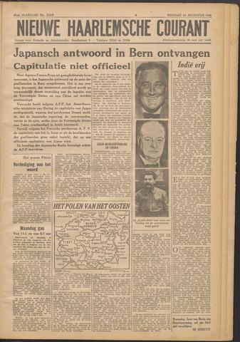 Nieuwe Haarlemsche Courant 1945-08-14