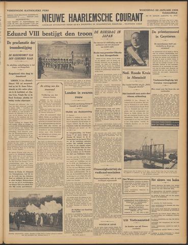 Nieuwe Haarlemsche Courant 1936-01-22