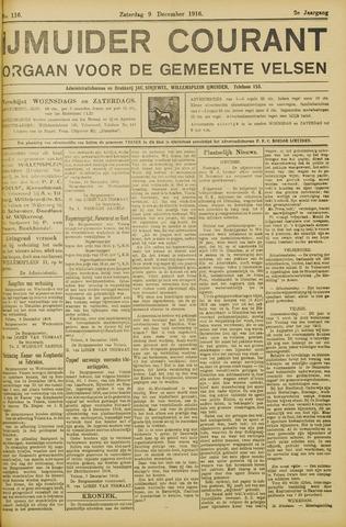 IJmuider Courant 1916-12-09