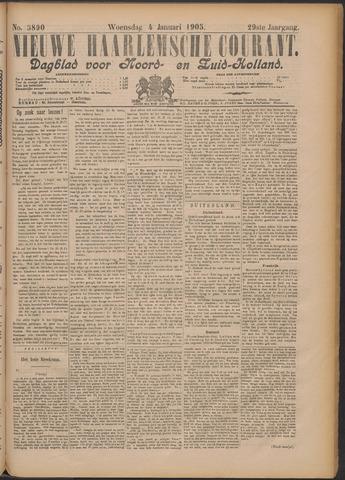 Nieuwe Haarlemsche Courant 1905-01-04