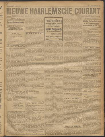 Nieuwe Haarlemsche Courant 1919-04-07