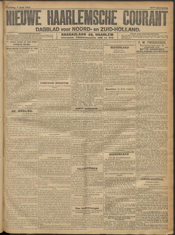 Nieuwe Haarlemsche Courant 1916-07-07