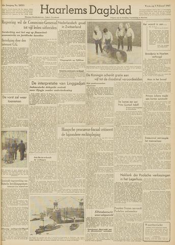 Haarlem's Dagblad 1947-02-05