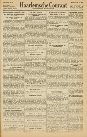 Haarlemsche Courant 1945-01-25