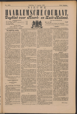 Nieuwe Haarlemsche Courant 1899-08-17