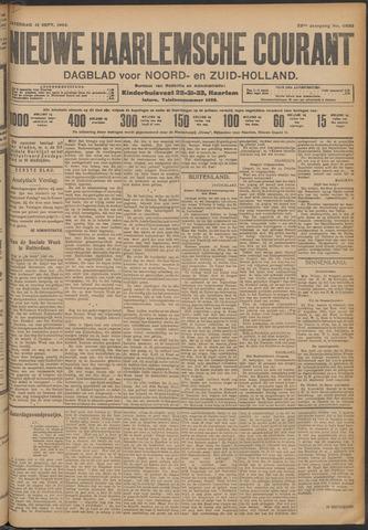 Nieuwe Haarlemsche Courant 1908-09-12