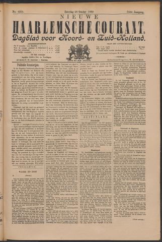 Nieuwe Haarlemsche Courant 1899-10-28