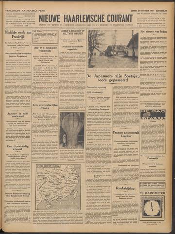 Nieuwe Haarlemsche Courant 1937-11-21