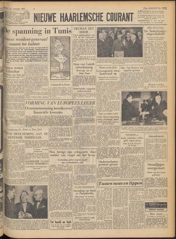 Nieuwe Haarlemsche Courant 1952-01-25