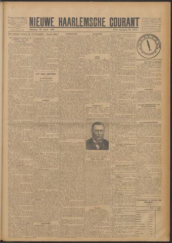 Nieuwe Haarlemsche Courant 1924-04-15