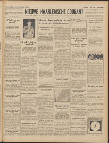 Nieuwe Haarlemsche Courant 1940-04-06