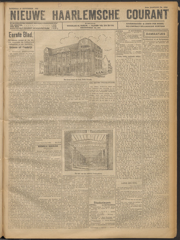 Nieuwe Haarlemsche Courant 1921-09-17
