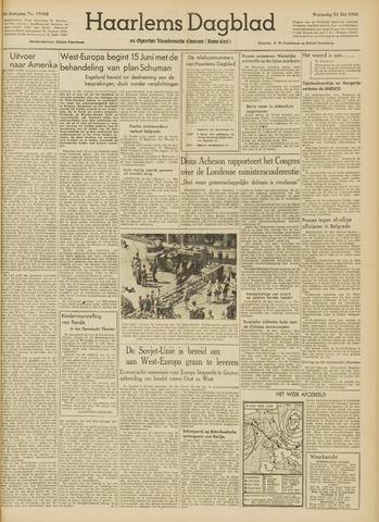 Haarlem's Dagblad 1950-05-31