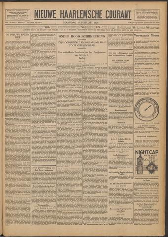Nieuwe Haarlemsche Courant 1928-02-27