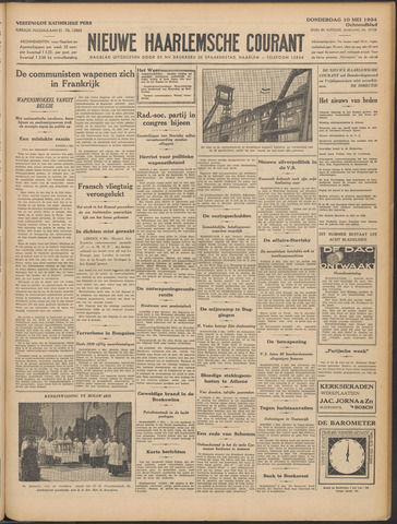 Nieuwe Haarlemsche Courant 1934-05-10