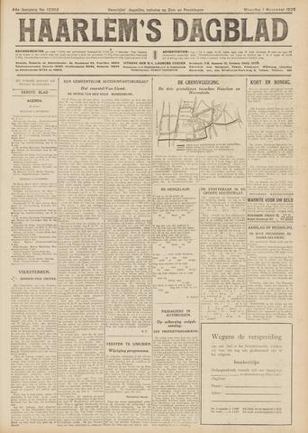 Haarlem's Dagblad 1926-11-01