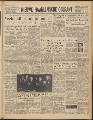 Nieuwe Haarlemsche Courant 1951-10-22