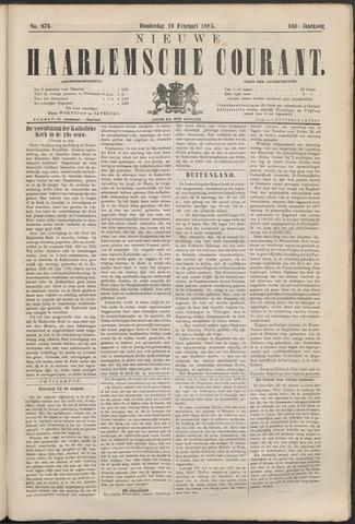 Nieuwe Haarlemsche Courant 1885-02-19