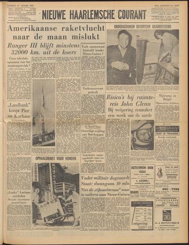 Nieuwe Haarlemsche Courant 1962-01-27