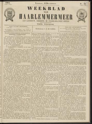 Weekblad van Haarlemmermeer 1864-12-02
