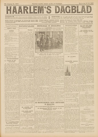 Haarlem's Dagblad 1926-05-20