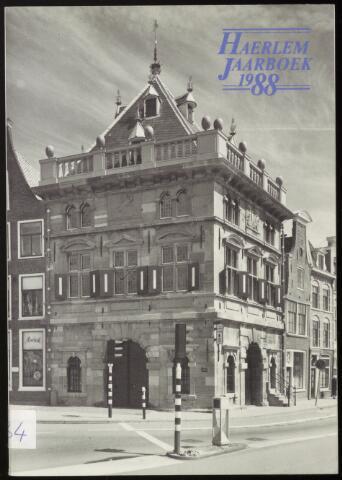 Jaarverslagen en Jaarboeken Vereniging Haerlem 1988