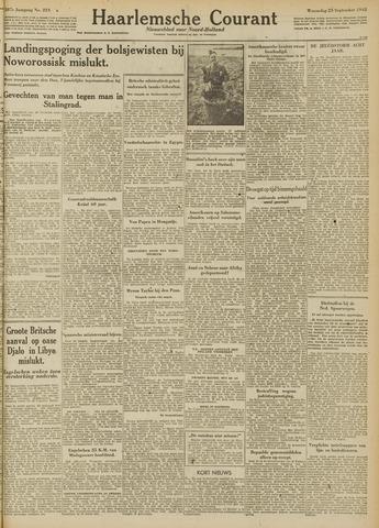 Haarlemsche Courant 1942-09-23