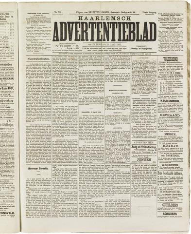 Haarlemsch Advertentieblad 1882-04-22