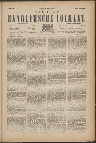 Nieuwe Haarlemsche Courant 1889-03-01