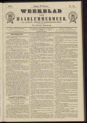 Weekblad van Haarlemmermeer 1873-10-31