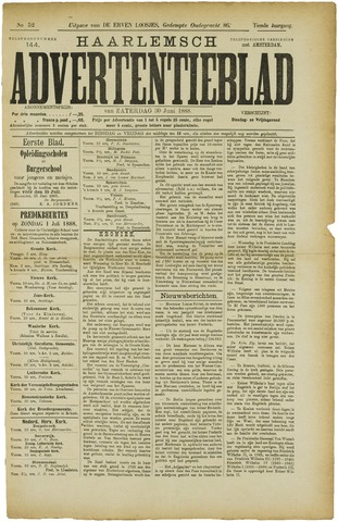 Haarlemsch Advertentieblad 1888-06-30