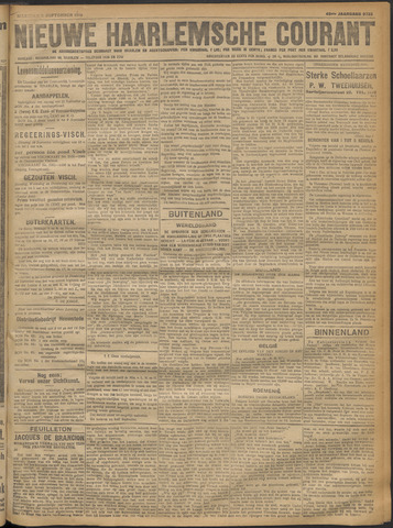 Nieuwe Haarlemsche Courant 1918-09-09