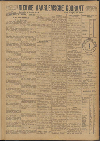 Nieuwe Haarlemsche Courant 1923-10-04