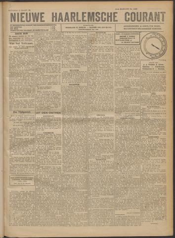 Nieuwe Haarlemsche Courant 1922-03-11