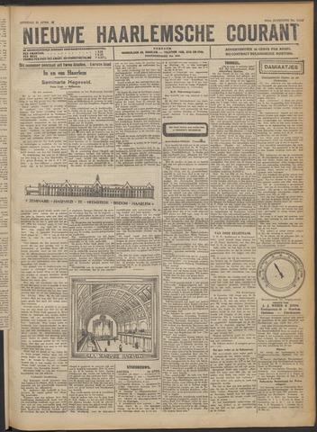Nieuwe Haarlemsche Courant 1922-04-25