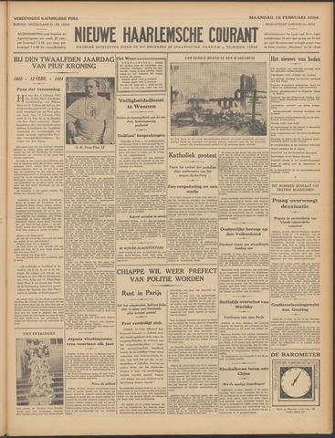 Nieuwe Haarlemsche Courant 1934-02-12