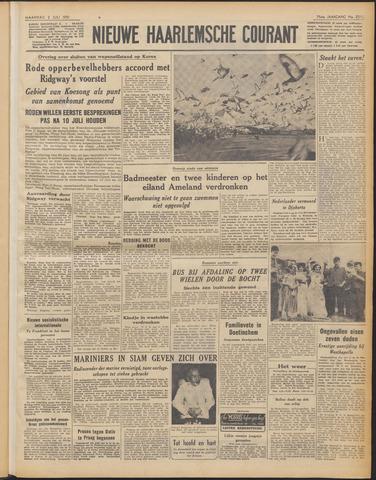 Nieuwe Haarlemsche Courant 1951-07-02