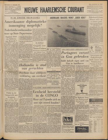 Nieuwe Haarlemsche Courant 1961-12-21
