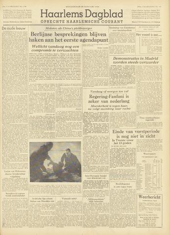 Haarlem's Dagblad 1954-01-28