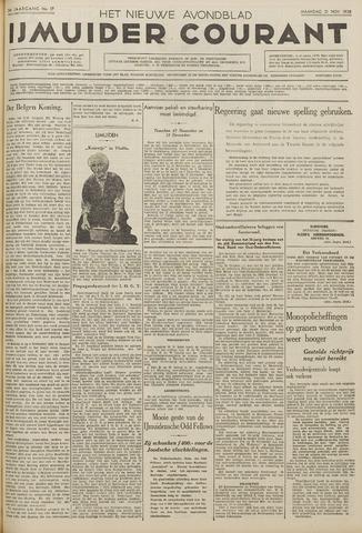 IJmuider Courant 1938-11-21