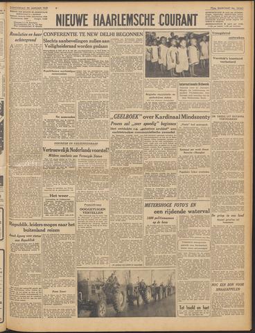 Nieuwe Haarlemsche Courant 1949-01-20