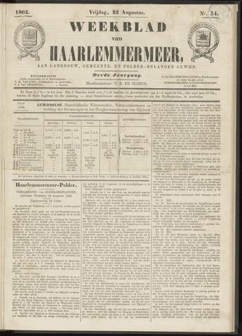 Weekblad van Haarlemmermeer 1862-08-22