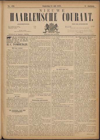 Nieuwe Haarlemsche Courant 1878-07-25