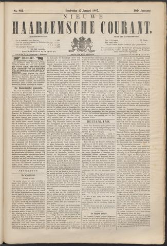 Nieuwe Haarlemsche Courant 1885-01-15