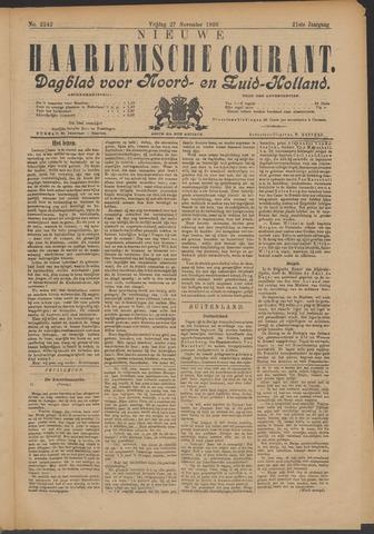 Nieuwe Haarlemsche Courant 1896-11-27
