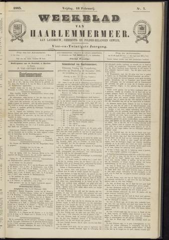 Weekblad van Haarlemmermeer 1883-02-16