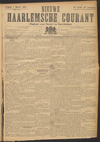 Nieuwe Haarlemsche Courant 1907-03-01