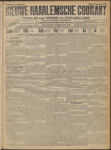 Nieuwe Haarlemsche Courant 1911-02-16